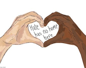 Tote Bag - Hate Has No Home Here