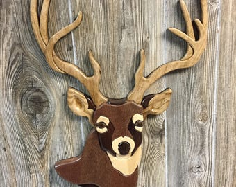 Intarsia-Whitetail Buck
