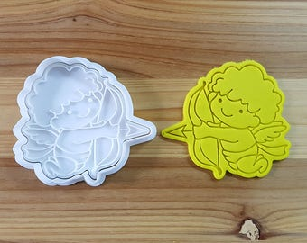 Cupid Cookie Cutter and Stamp