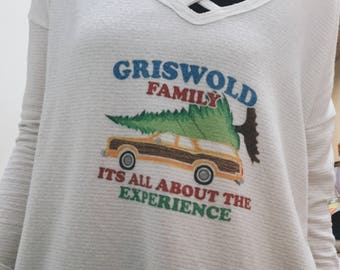 Griswold Family Christmas Vacation Oversized Sweater