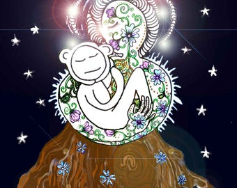 Daisy in the arms of Gaia