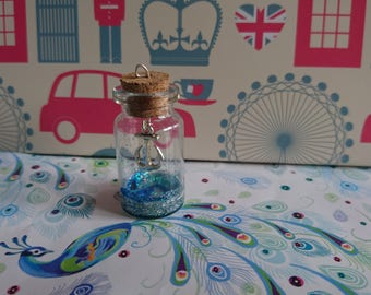 Under the Sea: Glass Bottle Necklace