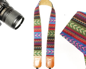 Promotion Price! NuovoDesign Unico Ethnic camera strap for DSLR and mirrorless, Selected discounted item limited time and quantity offer