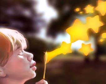 """Original artwork: """"Bubbles"""""""