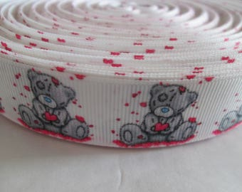 bear 22 mm grosgrain Ribbon sold by the yard