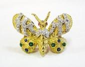 18K Victorian Butterfly R...
