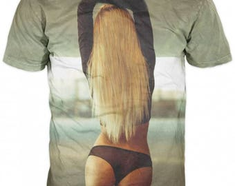 New Unique 3D Printed  Party  Sexy Women High Quality  T-shirt