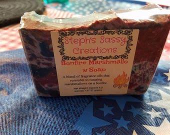 Bonfire Marshmallow Soap