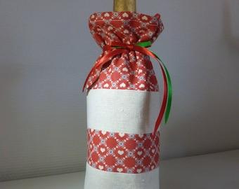 Fabric bottle gift bag