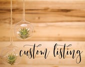 Custom Shower Signs - Reserved Listing