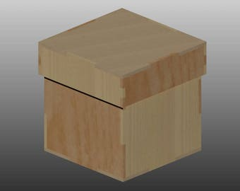 laser cut box etsy. Black Bedroom Furniture Sets. Home Design Ideas