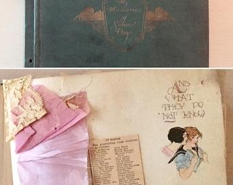 Vintage Scrapbook - Class of 1926 - Memories