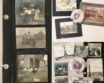 Vintage Photo Lot #5 - Early 1900's Collection
