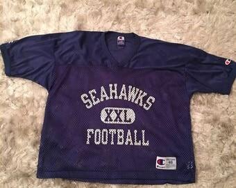 Vintage Seattle Seahawks Champion Jersey