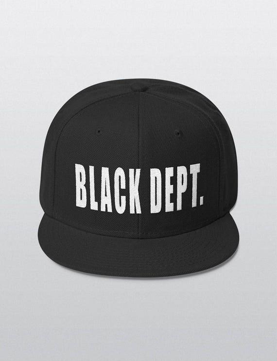 BLACK DEPT. | Wool Blend Snapback Cap