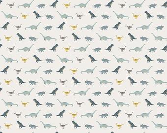 Dinosaur Fabric/ Fossil Rim/ Riley Blake Fabric/ Boy Fabric/ Nursery Fabric/ Fabric by the Yard/ Dinosaur Nursery/ Cream Fabric