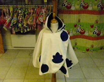 Cape reversible fleece from Alsace, 3 years