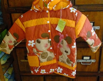 On sale - Quilted - Jacket size 5 years