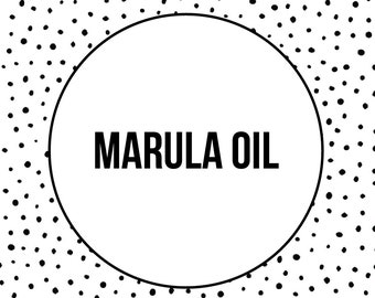 MARULA OIL - Facial Oil - Facial Moisturizer - Dry Skin Oil -  1 oz