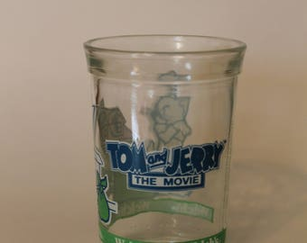 Tom and Jerry The Movie Jelly Jars from Welch's 1993 Collectible