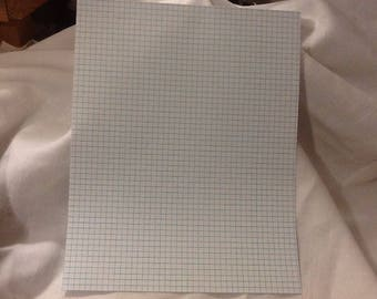 12 sheets of graph paper