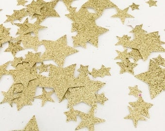 Gold Glitter Confetti, Star Confetti, Party Confetti, Table Scatter, Birthday Confetti, Party Decorations, Table Confetti, Party Supplies