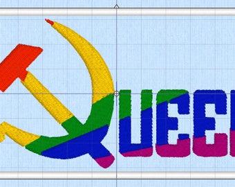 Queer Pride Communist Patch