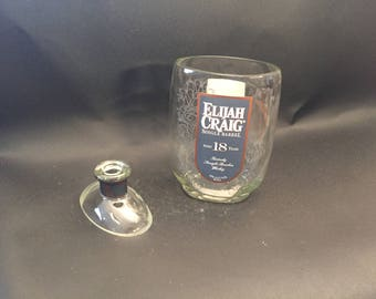 Elijah Craig Candle 18 Year Bourbon Whiskey Bourbon Bottle With/Without Attached Base Soy Candle. Made To Order !!!!!!!