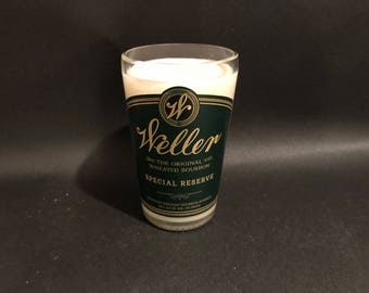 Buffalo Trace Weller Special Reserve Bourbon Whiskey BOTTLE Soy Candle 750ML. Made To Order !!