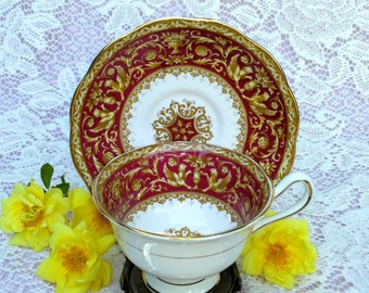 Royal Albert Florentine Cup And Saucer