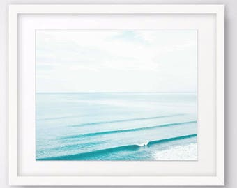 Minimalist Ocean Wall Art, Beach Prints, Abstract Ocean Photography Coastal Prints, Beach Art Download decor large wall art prints tropical