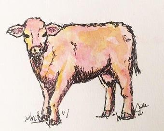 Original Pink Cow