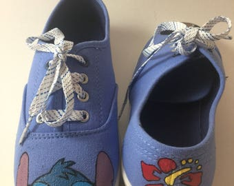Lilo and Stitch: Handpainted Shoes