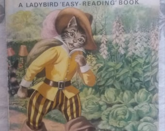 Puss in boots Ladybird Well Loved Tales 606D 1967