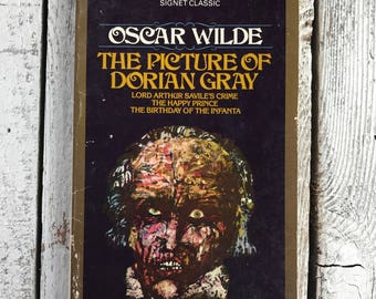 Vintage paperback book Oscar Wilde's masterpiece The Picture of Dorian Gray
