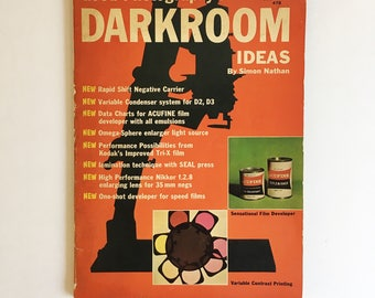 Good Photography's Darkroom Ideas by Simon Nathan, Paperback magazine ca. 1961