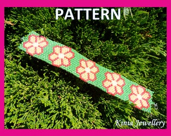Peyote pattern - flowers