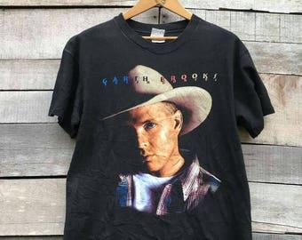 Rare / vintage / garth brooks / country singer /90s / shirt