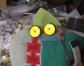 Dragonball Z Inspired Stud Earrings
