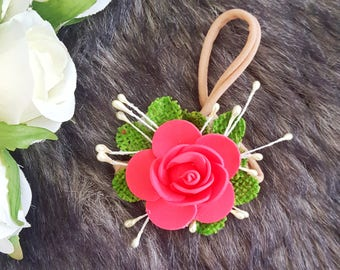 Single flower bloom headpiece