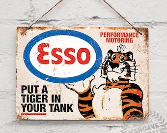 Esso tiger | Etsy