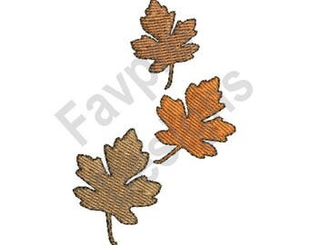 Autumn Leaves - Machine Embroidery Design