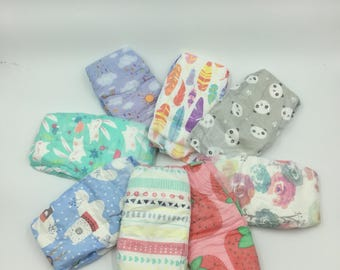 8 Reborn Diaper and Baby Powder scented wafer Bundle ***FREE SHIPPING***