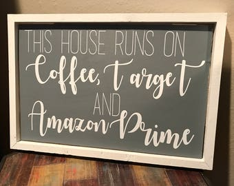 This House Operates on Coffee, Target, and Amazon Prime