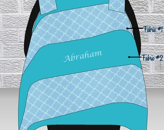 Baby Infant Car Seat Cover for Boy, Baby Infant Car Seat Canopy for Boy, Custom, Personalized, ON SALE (regularly priced at 45.00)