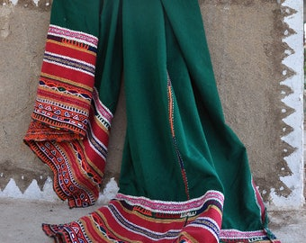 Vintage Kutchi Rabari Pachadi With Mirror Work