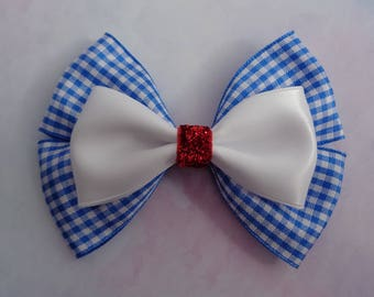 Dorothy Bow | Dorothy Hair Bow | Wizard Of Oz Inspired Hair Bow