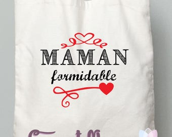 "MOM gift mother of mothers tote bag ""great Mom"""