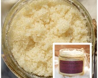 Raspberry Amber Sugar Scrub - Body Scrub - Sugar Scrub - Raspberry Sugar Scrub
