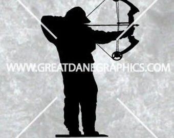 Bow Hunter svg, Hunting SVG, Archery SVG, Archery Vector, SVG for Cricut